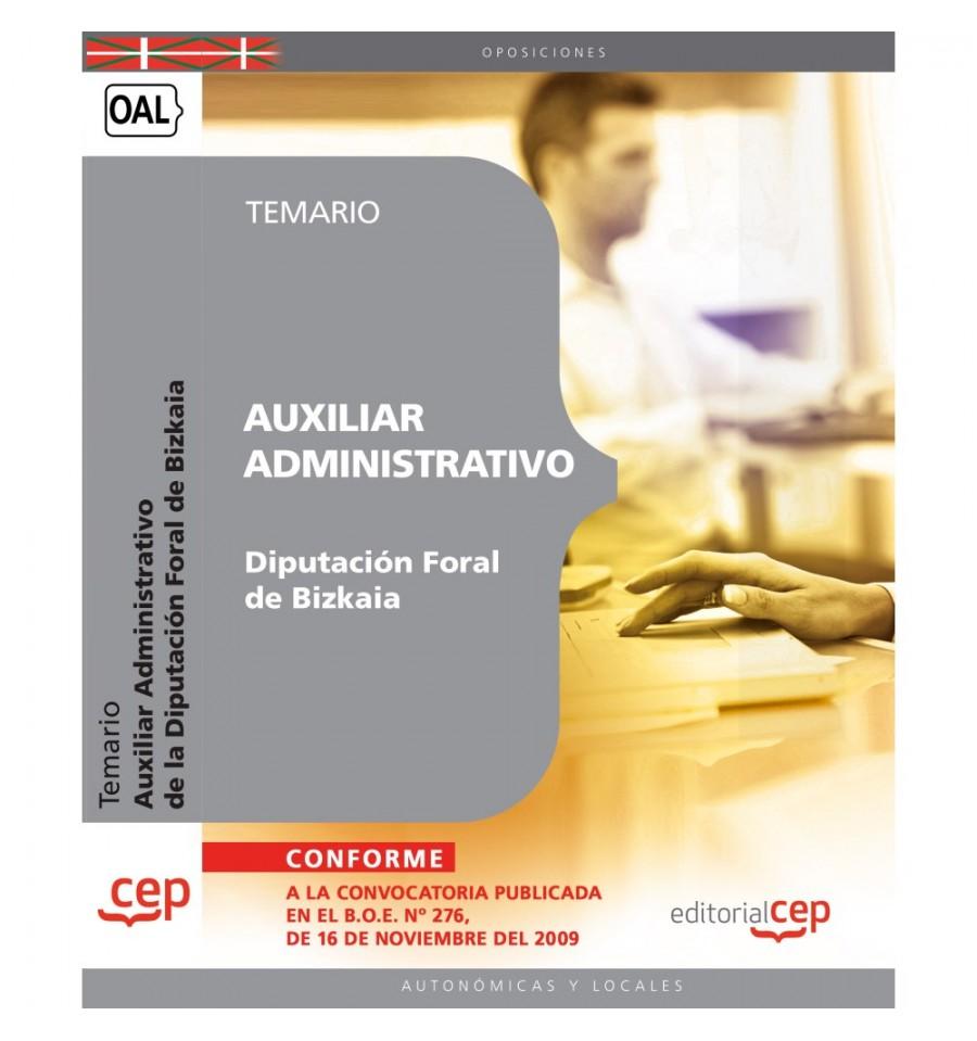 temario oposicion auxiliar administrativo: